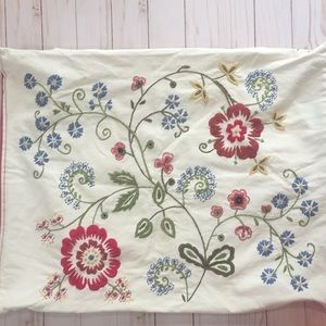 Other - Standard Pillow Embroidered Sham